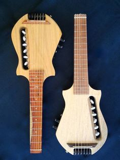 Guiseppe Riccobono - Trilly II travel guitar