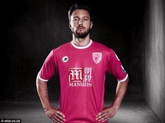 Harry Arter helped unveil Bournemouth's new third strip for the 2015-16 campaign...