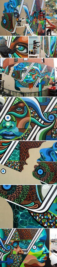 Peth mural by BEASTMAN