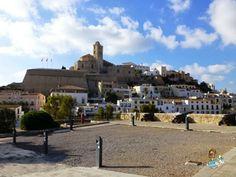 Dalt Vila in Ibiza (Spain)