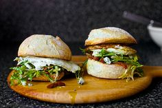 fried egg sandwich with bacon and blue cheese – smitten kitchen