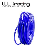 WLRING STORE- Universal SAM Style 50M Super Vacuum Silicone Hose -ID: 6mm OD:11MM -Blue ,100% Silicone material WLR-VSL6MM #Affiliate