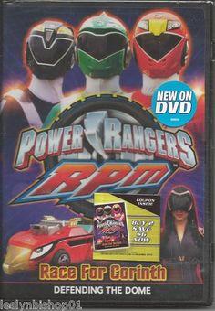 Power Rangers R.P.M., Vol. 2 - Race For Corinth (DVD, 2009)