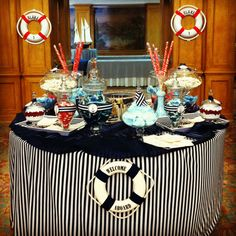 Nautical Sweet Table