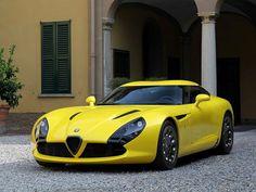Visit The MACHINE Shop Café... ❤ The Best of Alfa Roméo... ❤ (Alfa Roméo TZ3 Stradale Coupé)