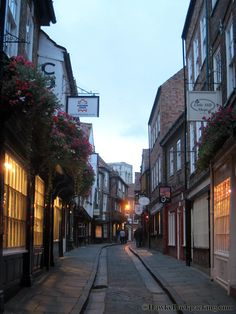 The Shambles York England. Love this little town!