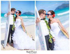Photo by www.rightframe.net - Slub oraz plener slubny na Hawajach, Hawaje, Hawajski, wesele, ceremonia, plaza, Honolulu, Waikiki, wyspa, wakacje, urlop, za granica, na plazy, zdjecia, plenerowe, slubne, slubna, podroz, poslubna, sesja, zagraniczna, ślubna, ślub, plaży, plaża, suknia, welon, nad morzem, bukiet, zachod, slonca, trash, the, dress, woda, ocean,  waimanalo, pomysl, pomysły, pomysł, fotograf, fotografia, inspiracje, deski surfingowe.