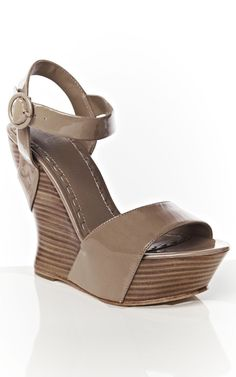 Joyce Smooth Patent Wedge... I also love you. Very much.