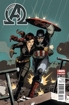 New Avengers #17 variant — Paolo Rivera