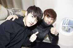 Kyungsoo (D.O) and Chanyeol | official SMTOWNnow 131224 update '2013 Baidu Feidian'