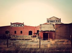 Medalta Potteries Historic Site.  A photo set and brief history of this local landmark and museum.