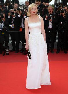 Kirsten Dunst in Dior Haute Couture