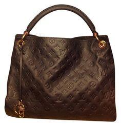 Louis Vuitton Artsy Mm Very Dark Navy Blue Bag - Satchel $2,997