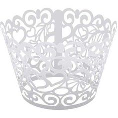 Brooklace 375 x 9 Hearts Laser Cut Cupcake Wrapper  250 per case -- AMAZON BEST BUY   #CakeDecoration
