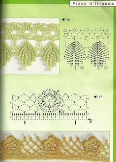 1000 images about cenefas crochet on pinterest crochet edgings crochet and crochet edging - Cenefas de crochet ...