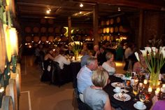 Dining in the Winery