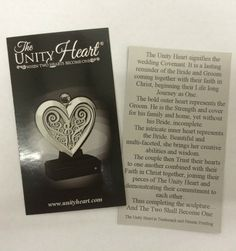 Unity Heart - Pewter