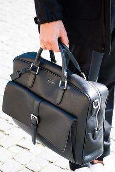 BAG TO WORK  Smythson  bag  botd  menswear  black Fashion Online Shop 4fa3b253b1597