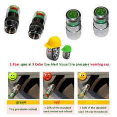 Cheap valve machine, Buy Quality cap gun machine gun directly from China valve cap Suppliers:4PCS Car Auto Tire Pressure Monitor Valve Stem Caps Sensor Indicator Eye Alert Diagnostic Tools KitNOTE: This item come http://www.aliexpress.com/item/2-4bar-special-3-Color-Eye-Alert-Visual-tire-pressure-warning-cap-Tire-Pressure-Indicator-Valve/1489383159.html