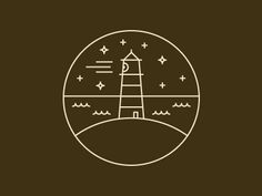 Lighthouse by Mads Burcharth