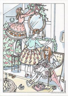 « Lolita Christmas - Home decoration » par StormNeverland | Redbubble