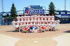 2011 Spokane Indians Team Photo