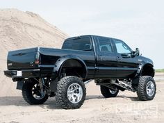 Ford F350. Redneck muscle truck