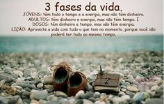 #envelhecer #fases da vida