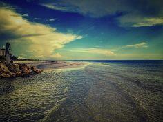 Tip of Estero Island in Florida