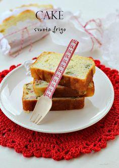 Plumcake salato svuota frigo - Plumcake 7 vasetti allo yogurt