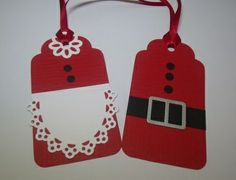Christmas Tags Mrs Claus and Santa #Christmas #thanksgiving #Holiday #quote