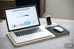 ビジネスマンに嬉しいアイディア!ノートパソコンのまな板?
