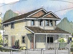 Country House Plan with 1429 Square Feet and 2 Bedrooms from Dream Home Source   House Plan Code DHSW62790