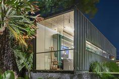 Galeria da Arquitetura | Box16 - O Box16, projetado pelo arquiteto Felipe Soares para a Casa Cor Minas 2015, foi concebido para ser um loft de fim de semana