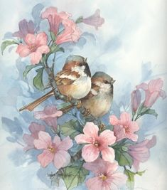 Pleasant Company 9x9 watercolor | CShoresInc - Painting on ArtFire