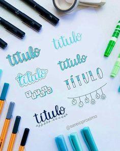 Journal Fonts, Bullet Journal Tracker, Bullet Journal Ideas Pages, Bullet Journal Inspiration, Brush Lettering Worksheet, Hand Lettering Alphabet, Doodle Lettering, Lettering Tutorial, Study Notes