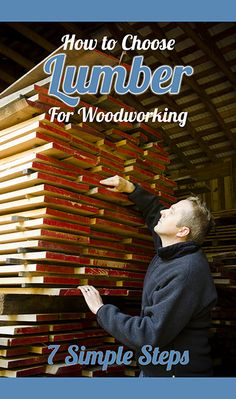 When I got started in woodworking I was incredibly confused about choosing wood. In the above video, and in the article below, I share what I've learned about the basics of choosing lumber for woodworking. I want to save you time and head aches in trying to understand lumber!