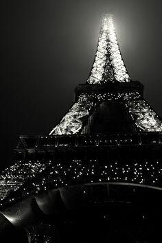 La Tour black and white