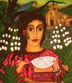 RENDEIRA Vera Sabino, pintora brasileña  (1949