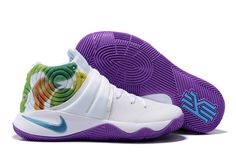 newest 3b89c 634e2 NIKE Kyrie Irving 2 Effect Tie Dye Basketball Shoes AAAA-043