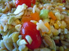 Roasted Corn and Orzo Salad