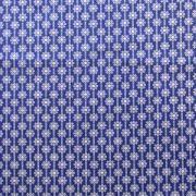 """Ellen Luckett Baker Framework Canvas - Daisy Chain (Royal Blue) 15% Linen/85% Cotton, canvas, 44/45"""" wide"""