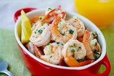 Lemon Garlic Shrimp Recipe on Yummly