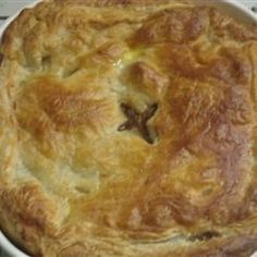 This recipe was created by trying to copy a steak pie made at the 'Butt and Ben' Scottish Bakery in Pickering, Ontario. My husband says it's better!  You could also add 2 calf kidneys…