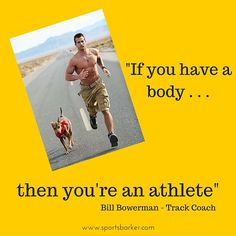 """""""""""If you have a body, then you're an #athlete """" #sportsbarker #sportsday #motivationalquotes  #trackandfield  check the website in the bio . . ."""" Photo taken by @sportsbarker on Instagram, pinned via the InstaPin iOS App! http://www.instapinapp.com (09/17/2015)"""