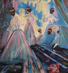 Artist: Konstantina Kratimenou Title: muse 100x100 dim oilapainting price:850euro Joomla Templates, Fingerprints, Muse, Gallery, Artist, Blog, Painting, Painting Art, Paintings