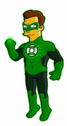 Springfield Punx: Green Lantern (Movie Version)
