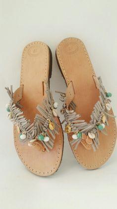 Sandals by Alevizou jewellery