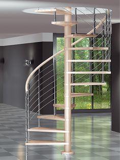Escalera de caracol DIABLE de Maydisa. www.maydisa.com