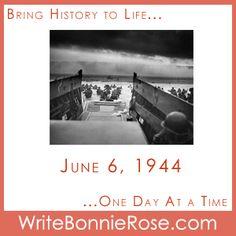 Timeline Worksheet: June 6, 1944, D-Day Invasion